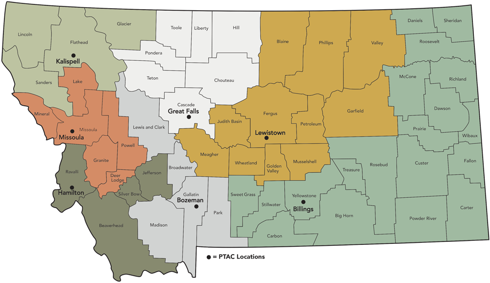 Montana County Map Updated July 2019 1