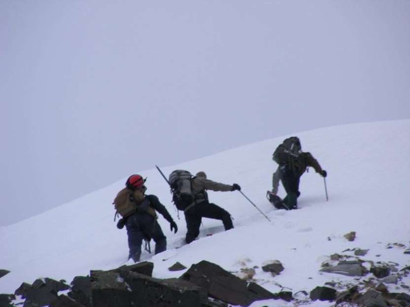 Peak in Snow